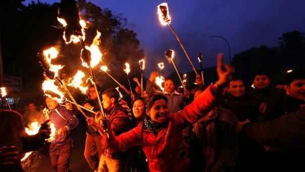 """""""Shucks! Let's go and burn Tarun Tejpal, girls"""""""